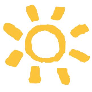 Sonne-transparent